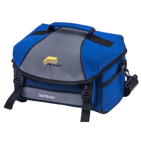 Plano Molding 447303 Weekend Series Blue Fabric Softsider Tackle Bag