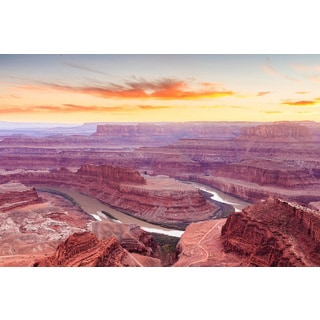 Marmont Hill 'Amazing Canyon' Painting Print on Wrapped Canvas