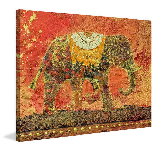 Marmont Hill 'Pachy' Painting Print on Wrapped Canvas