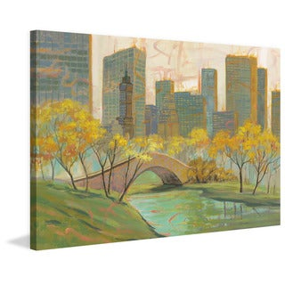 Marmont Hill 'Spirit of New York City I' Painting Print on Wrapped Canvas