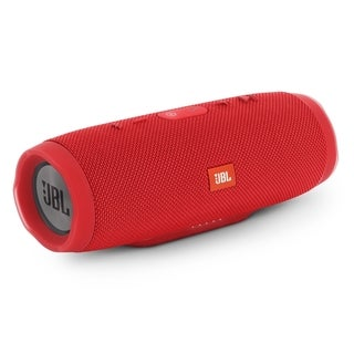 JBL Charge 3 Red Speakers