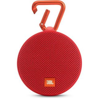 JBL Red Clip 2 Portable Bluetooth Speaker