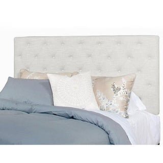 Progressive Tyler Ivory Fabric Tufted Headboard/Bed