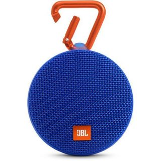 JBL Clip 2 Blue Portable Bluetooth Speaker