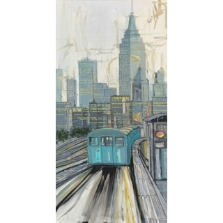Marmont Hill 'Spirit of New York City II' Painting Print on Wrapped Canvas