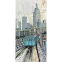 Marmont Hill 'Spirit of New York City II' Painting Print on Wrapped Canvas - Multi-color