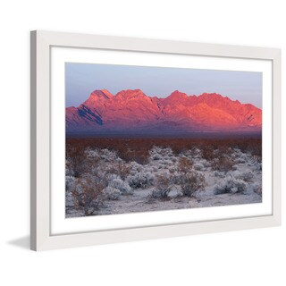 Marmont Hill 'Red Hills' Framed Painting Print