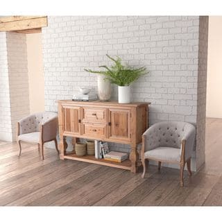 Zuo Columbus Natural Fir Wood Buffet