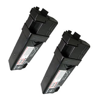 2PK Compatible Dell 1320 BK Toner Cartridge For Dell 1320 1320c 1325 ( Pack of 2 )