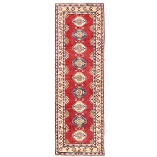 Herat Oriental Afghan Hand-knotted Kazak Wool Runner (2'8 x 11'3)