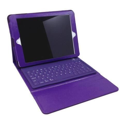 Bluetooth Purple Keyboard Folio for iPad Pro 12-inch