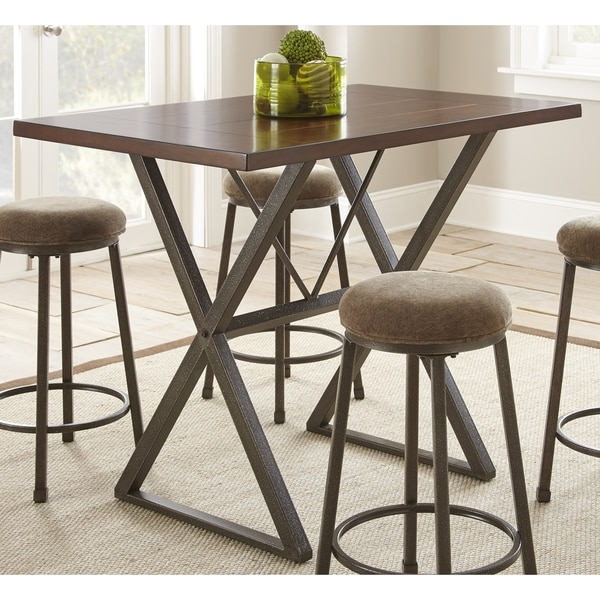 shop greyson living oldham counter height dining table cherry