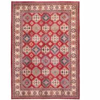 Handmade Herat Oriental Afghan Kazak Wool Rug  - 11' x 15' (Afghanistan)