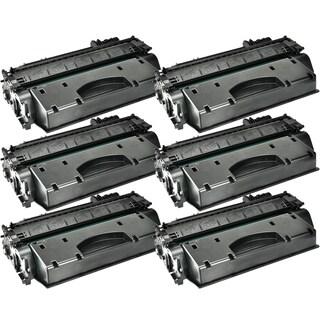 6PK Compatible CE505X Toner Cartridge For HP LaserJet P2055 P2055d P2055dn P2055x ( Pack of 6 )