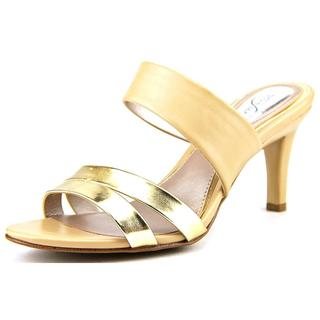 Alfani Women's Dextine Gold Synthetic Dress Sandals
