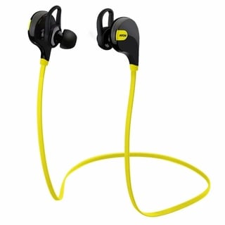 Bluetooth Wireless Sports Running Gym Stereo Black/Yellow Headset for iPhone and Android Phones