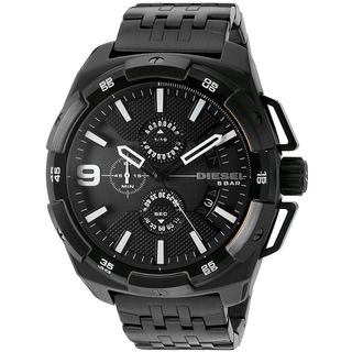Diesel Men's DZ4395 'HeavyWeight' Chronograph Black Stainless Steel Watch