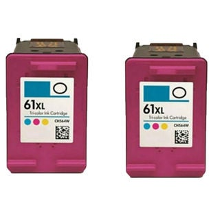 2PK Compatible CH564WN (HP 61XL) Ink Cartridge For HP Deskjet 1000 1050 2050 3000 3050 ( Pack of 2 )