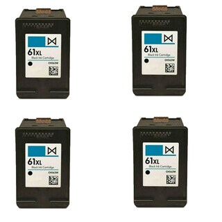 4PK Compatible CH563WN (HP 61XL) Ink Cartridge For HP Deskjet 1000 1050 2050 3000 3050 ( Pack of 4 )