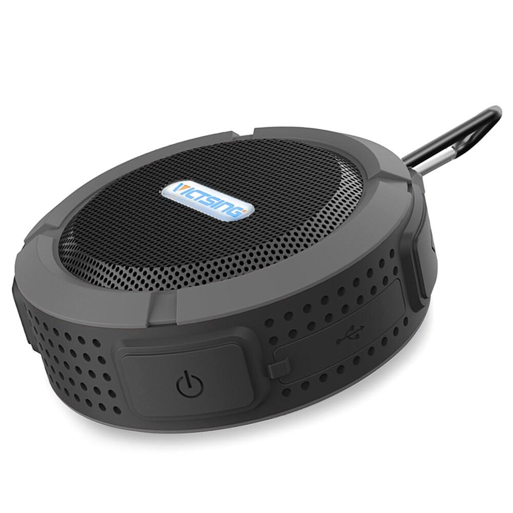 Coutlet Wireless Grey Waterproof Bluetooth 3.0 Speaker wi...