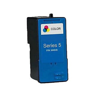 1PK Compatible M4646 (Series 5) Color Ink Cartridge Fr Dell 922Dell 924Dell 942Dell 944Dell ( Pack of 1 )