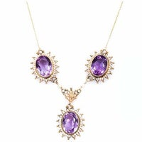 Gemstone Vintage Necklaces