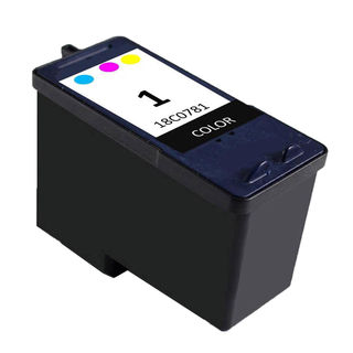 1PK Compatible 18C0781 ( #1 ) Ink Cartridge For Lexmark X2470 AIOX2300 SeriesX2310 AIOX2330 AIOX2350 AIOZ735 ( Pack of 1 )