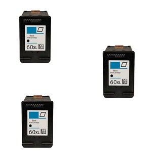 3PK Compatible CC641WN (HP 60XL) Ink Cartridge For HP Deskjet D1660 D2500 D2530 ( Pack of 3 )