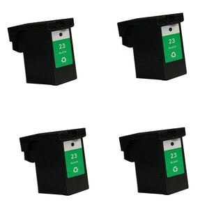 4PK Compatible 18C1523 (#23) Ink Cartridge For Lexmark X3530 Z1410 ( Pack of 4 )