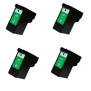 4PK Compatible 18C1428 (#28) Ink Cartridge For Lexmark X2500 X5075 ( Pack of 4 )