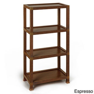 Westminster 4 Tier Eco Friendly Storage Shelf and Bookcase (made from sustainable non-toxic zBoard paperboard)