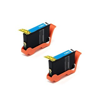 2PK Compatible Lexmark 150XL C Ink Cartridge For Lexmark Pro715 ink Pro715 Pro915 ink Pro915 S315 ink S315 ( Pack of 2 )