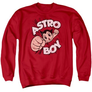 Astro Boy/Flying Adult Crew Sweat in Red
