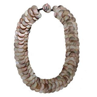 Pearl Lustre Mother of Pearl Necklace