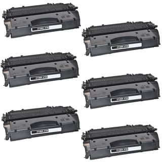 6PK Compatible CF280A Black Toner Cartridge For HP LaserJet Pro 400 Series HP LaserJet 400 M401 (Pack of 6)|https://ak1.ostkcdn.com/images/products/11990321/P18870516.jpg?impolicy=medium