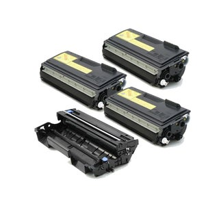 4 Pack Compatible 3 x TN570 Toner DR510 Drum Cartridge For Brother DCP-8040 DCP-8045 HL-5140 ( Pack of 4 )