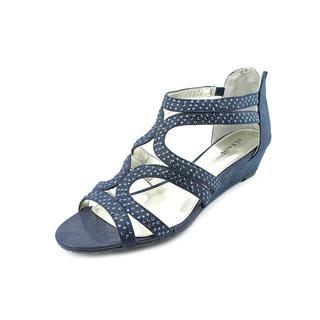 Alfani Women's Gypsie Blue Synthetic Sandals