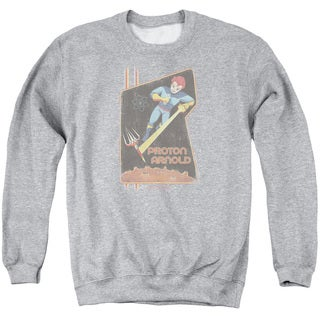 Scorpion/Proton Arnold Poster Adult Crew Sweat in Athletic Heather