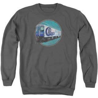 Chicago/The Rail Adult Crew Sweat in Charcoal