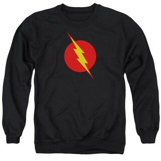 JLA/Reverse Flash Adult Crew Sweat in Black
