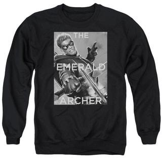 JLA/Trigger Adult Crew Sweat in Black