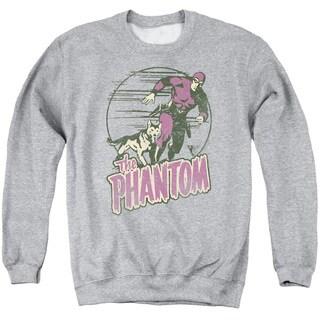 Phantom/Phantom and Dog Adult Crew Sweat in Athletic Heather
