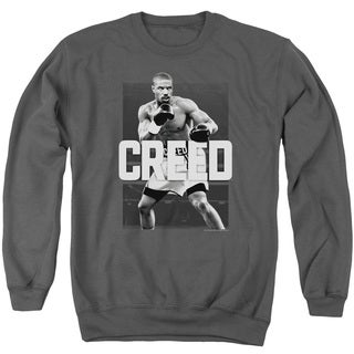 Creed/Final Round Adult Crew Sweat in Charcoal
