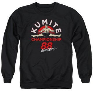 Bloodsport/Championship 88 Adult Crew Sweat in Black