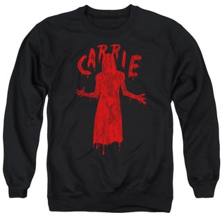 Carrie/Silhouette Adult Crew Sweat in Black