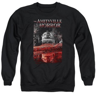 Amityville Horror/Cold Blood Adult Crew Sweat in Black