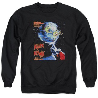 Killer Klowns From Outer Space/Invaders Adult Crew Sweat in Black