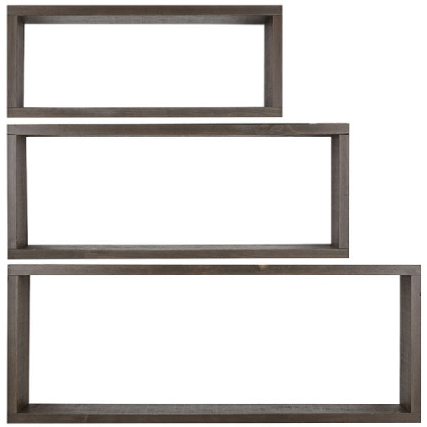 Hobbitholeco. 3 Shelves (12X36, 10X30 & 8X24))