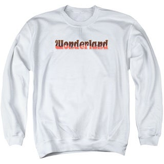 Zenescope/Wonderland Logo Adult Crew Sweat in White