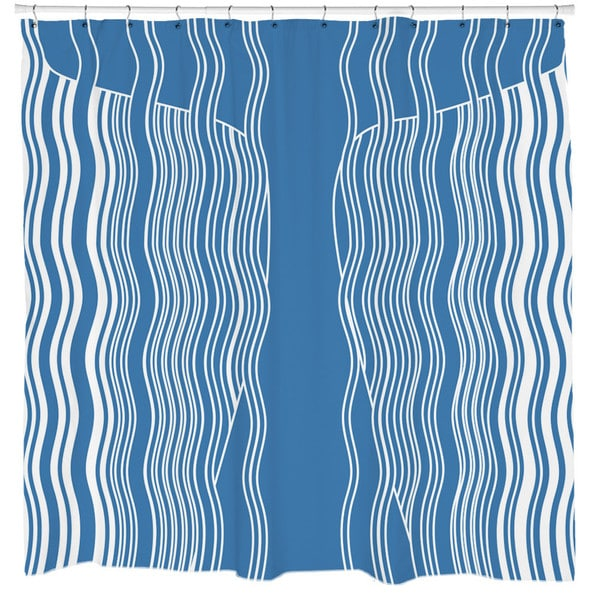 Sharp Shirter Moby Whale Shower Curtain
